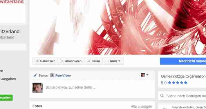 digitalswitzerland / Social Media / ENG & DE