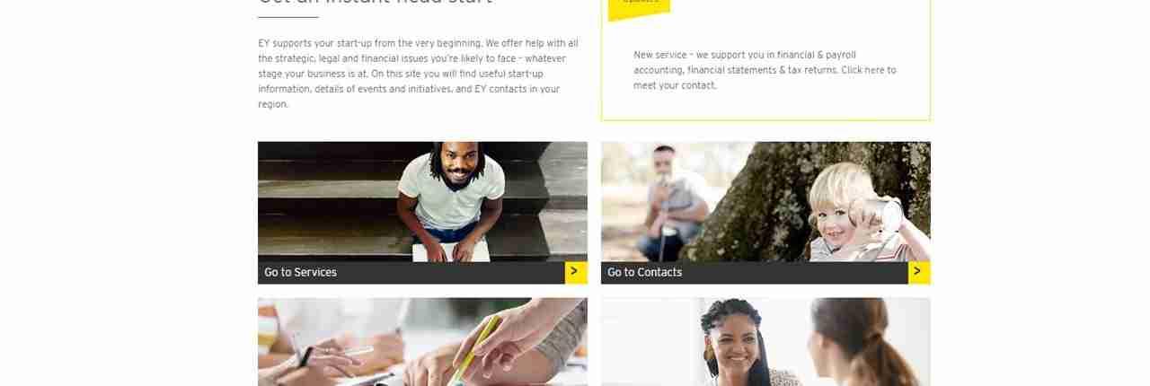 EY / Start-up-Initiative / Website / EN / DE